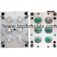 6 cavities  oil cap mould